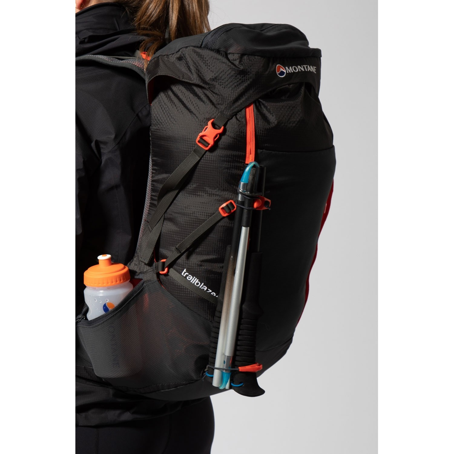 Montane Trailblazer 44 Rucksack - Charcoal/Firefly Orange