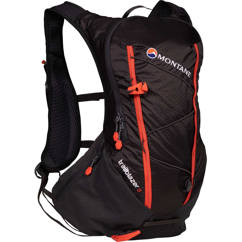 Montane Trailblazer 8 Running Pack - Charcoal/Firefly Orange