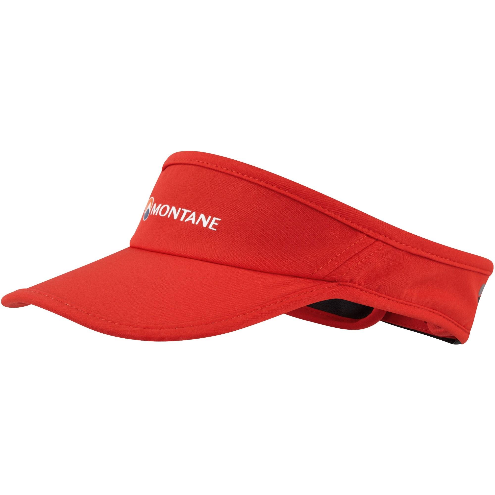Montane VIA Visor - Flag Red