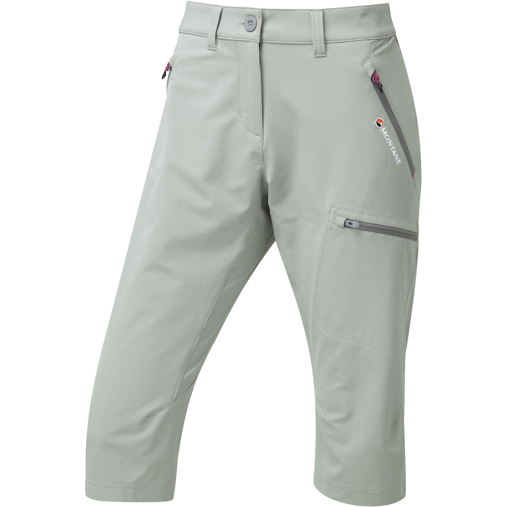 Montane Women's Dyno Stretch Capri Pants - Cloudburst Grey