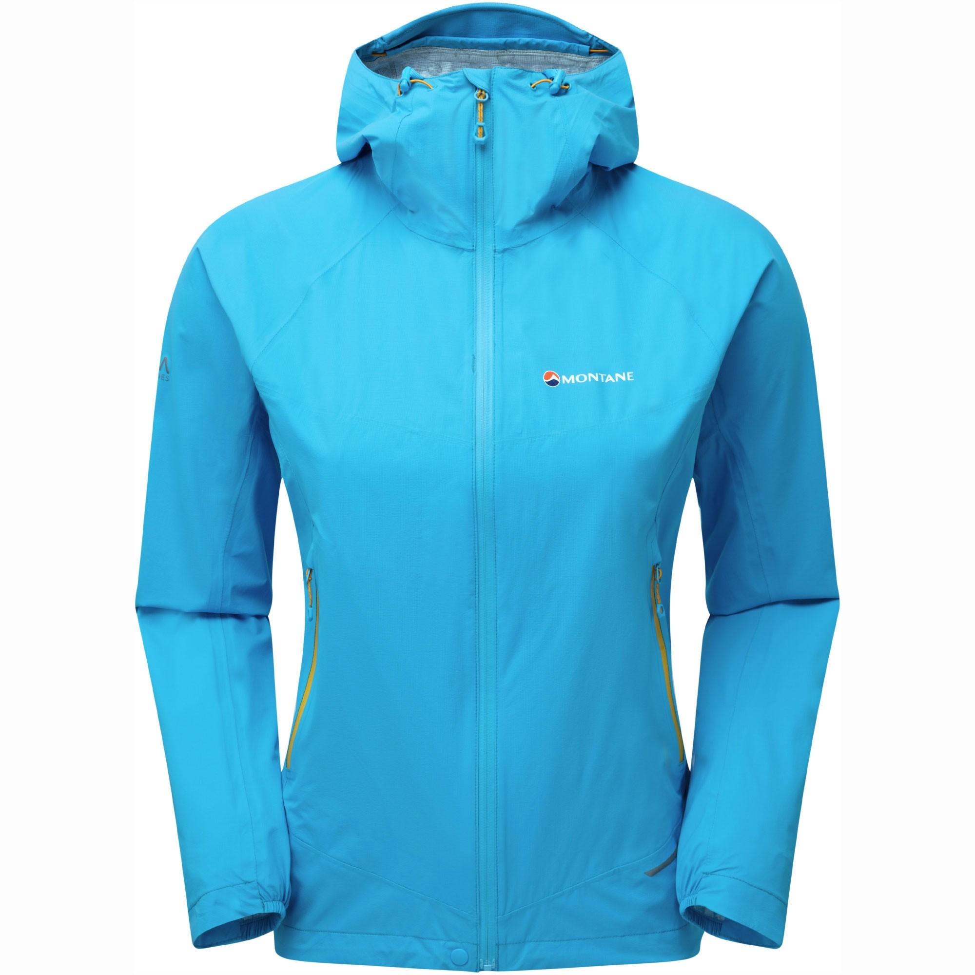 Montane Minimus Stretch Ultra Waterproof Jacket - Cerulean Blue