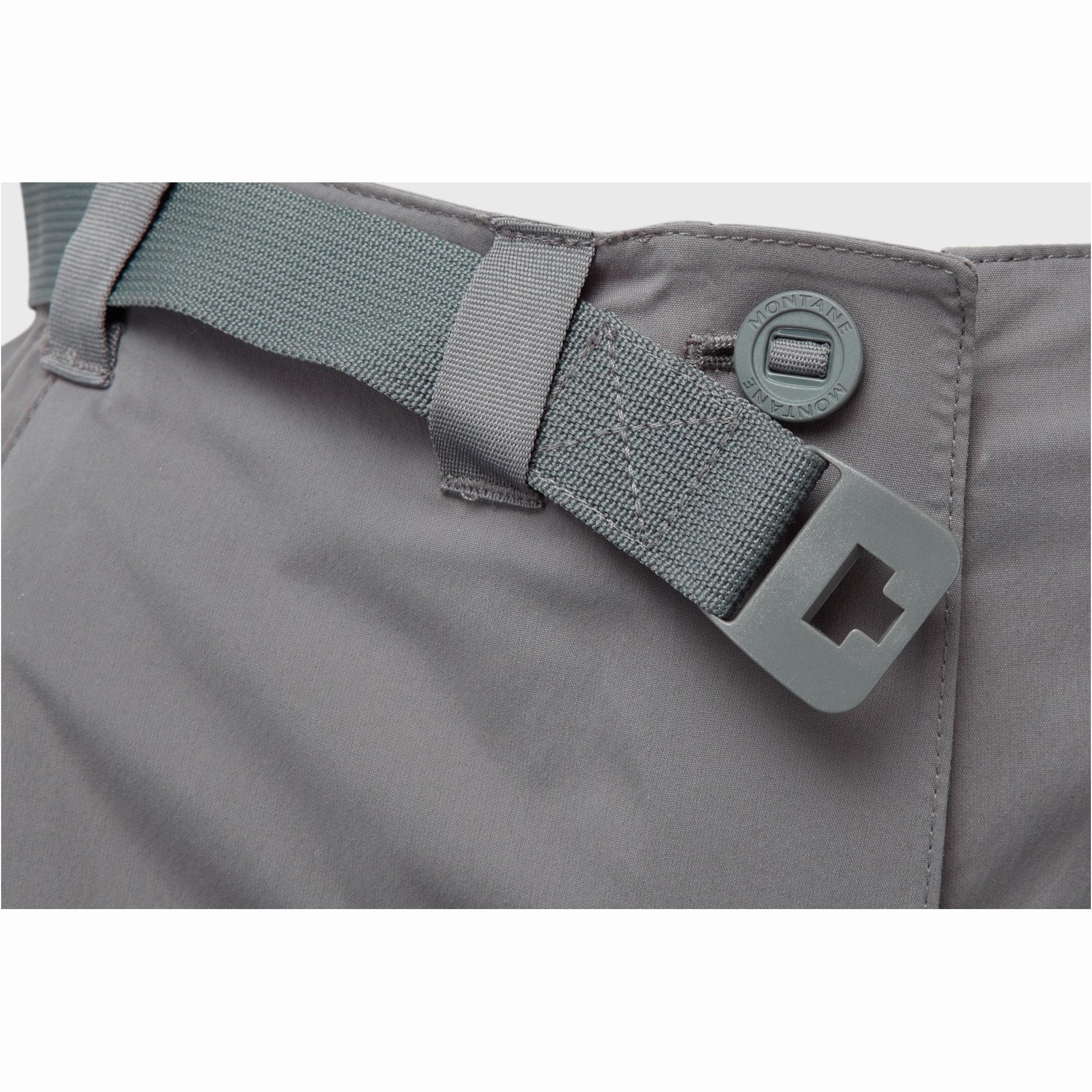 Montane Terra Pack Women's Pants - Mercury - Detail