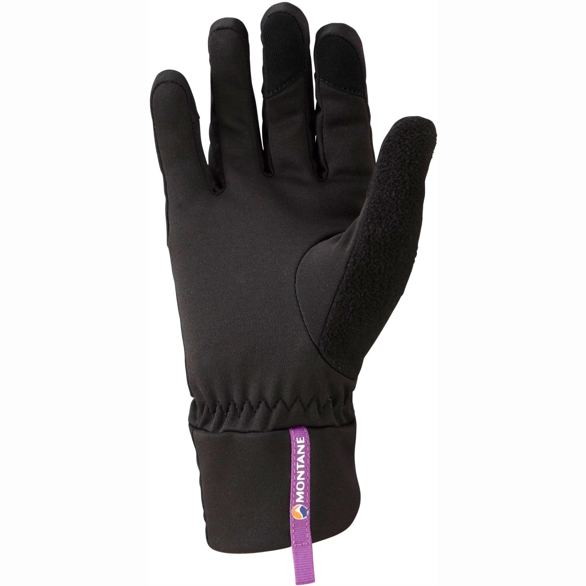 Montane Via Trail Women's Running Gloves - Black