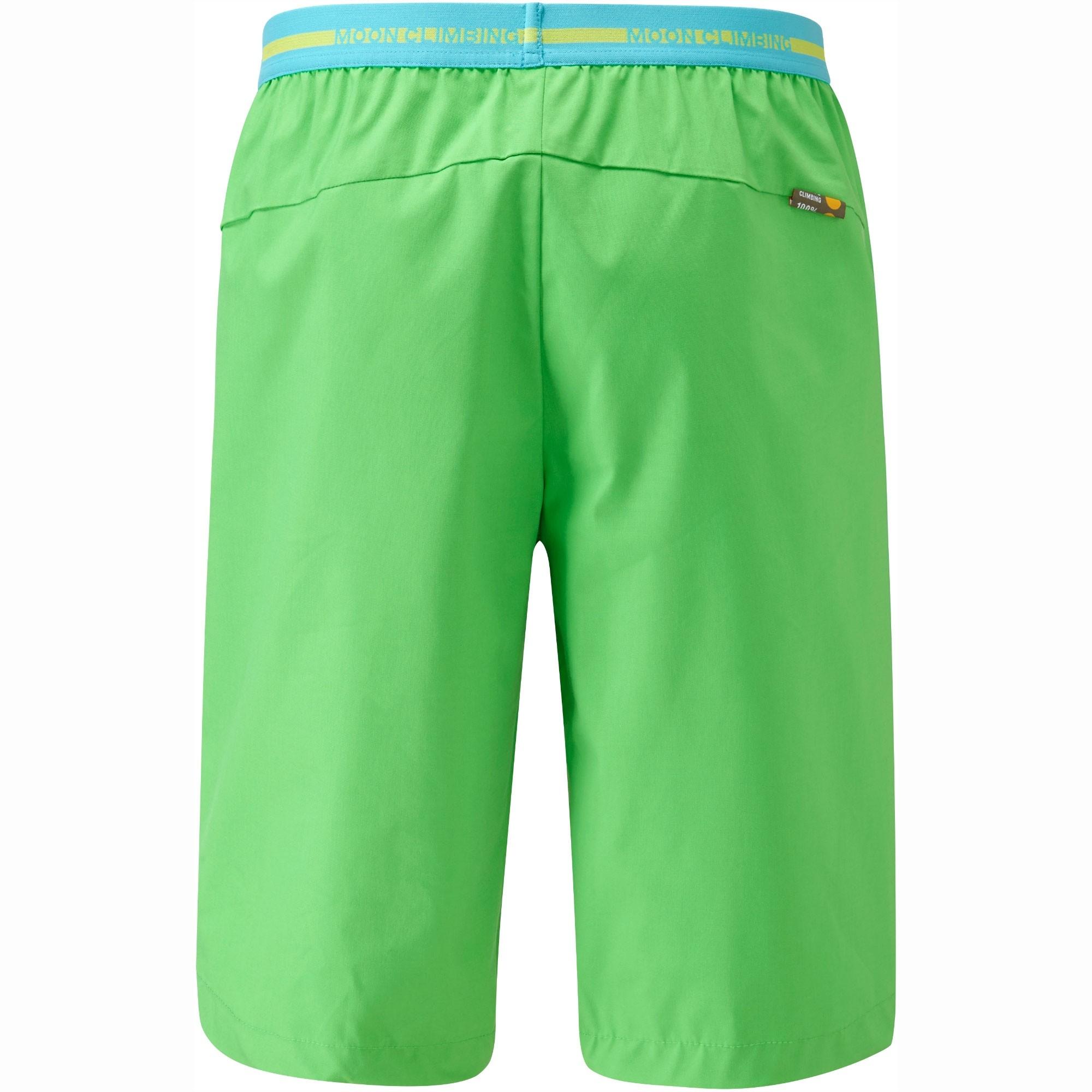 Moon Samurai Climbing Shorts - Classic Green