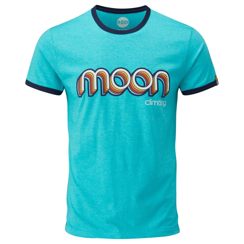 Moon Retro Ringer Tee - Men's - Bluebird/Indigo