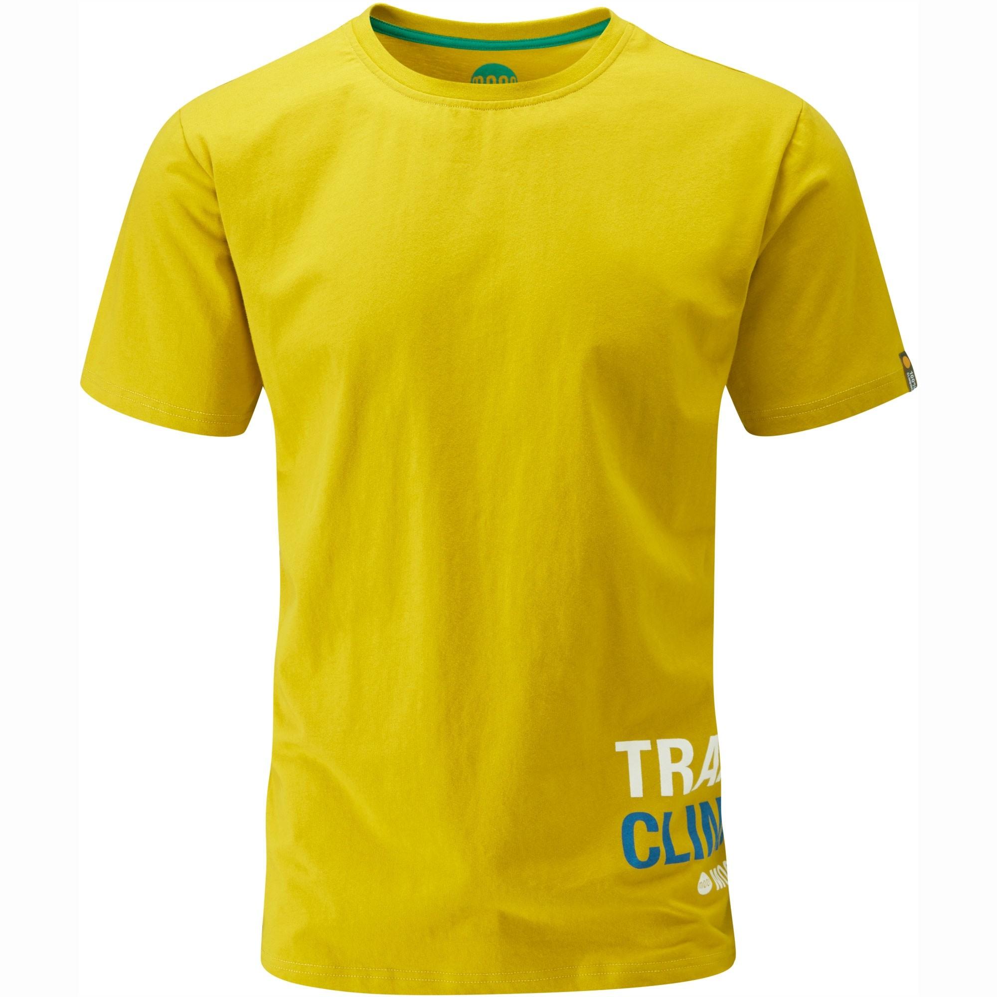 Moon Train Hard T-Shirt - Lemon Curry