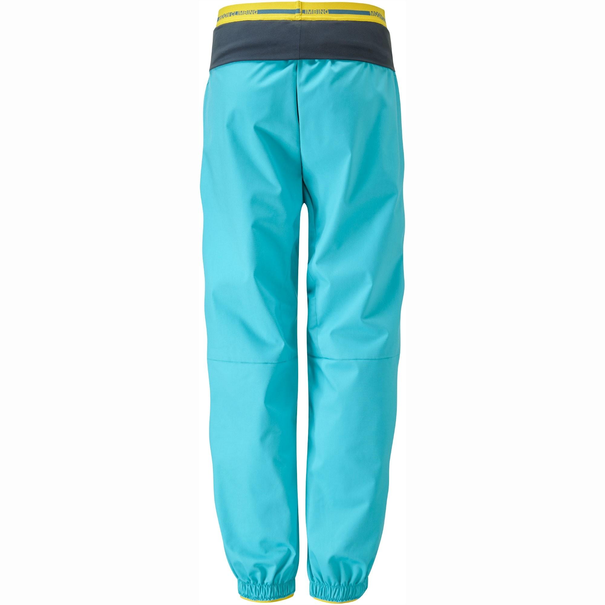 Moon Women's Samurai Pants - Bluebird - Back