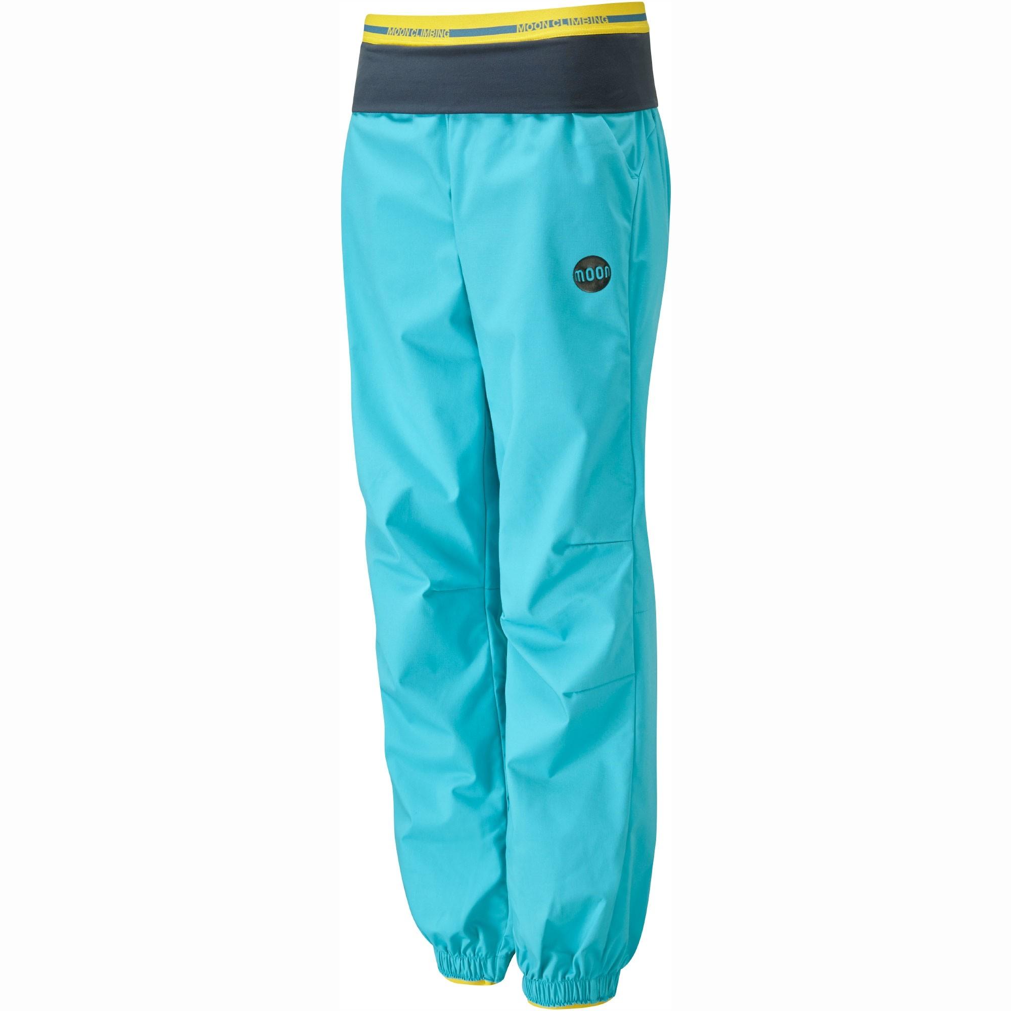 Moon Women's Samurai Pants - Bluebird - Front