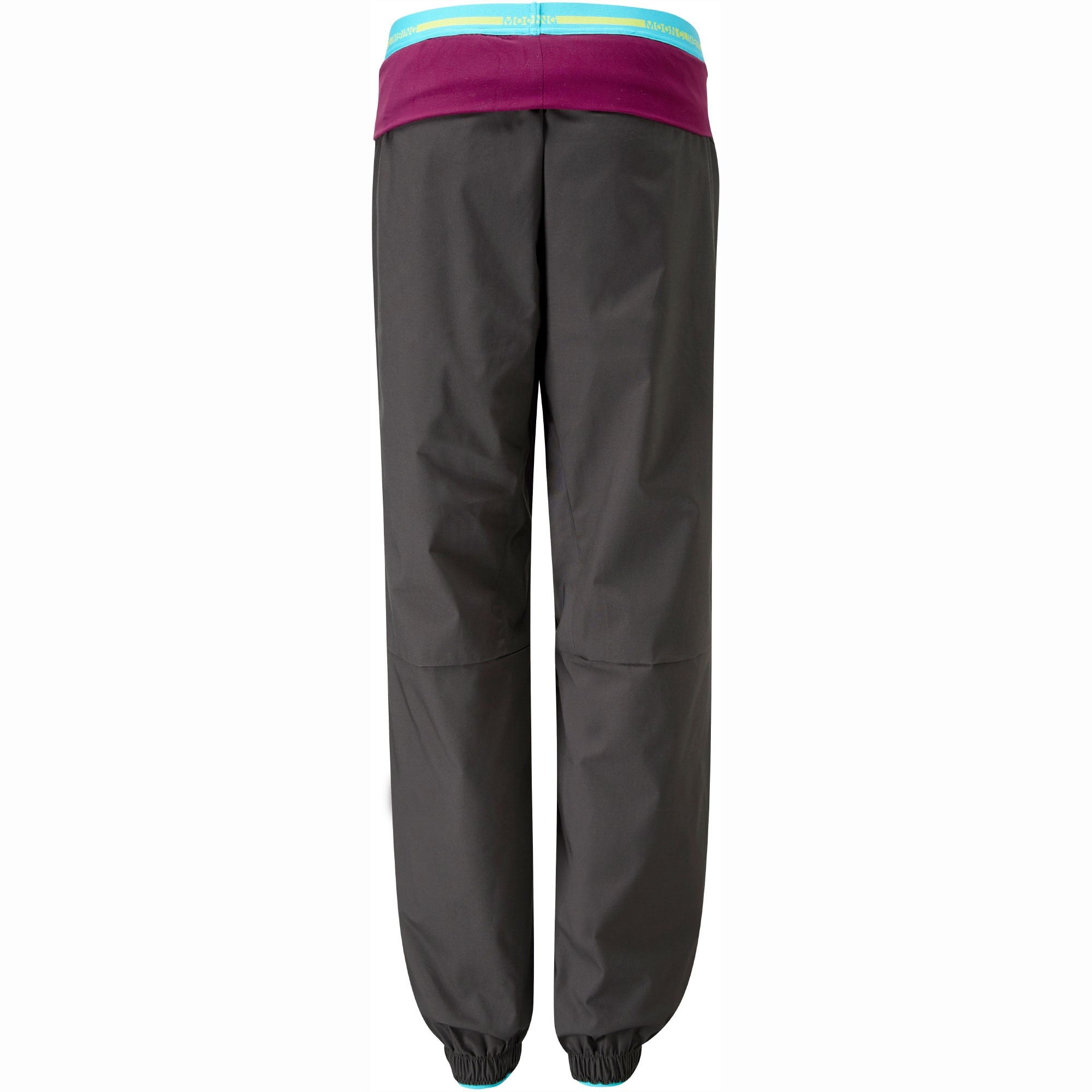 Moon Women's Samurai Pants - Charcoal - Back