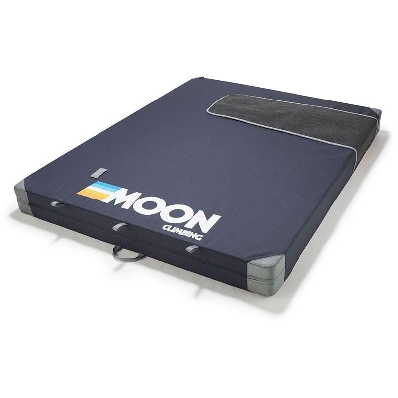 Moon Saturn Crash Pad - Retro Stripe Indigo