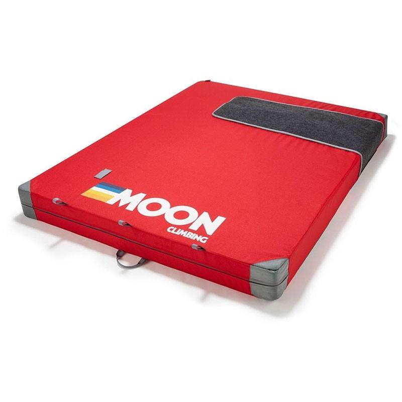 Moon Saturn Crash Pad - Retro Stripe Red