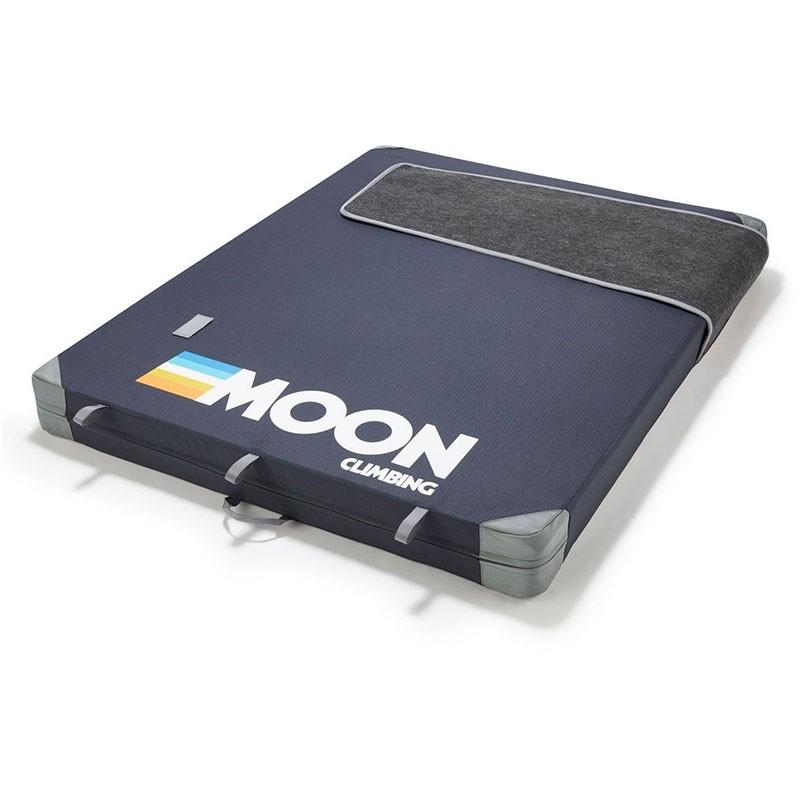 Moon Warrior Crash Pad - Retro Stripe Indigo