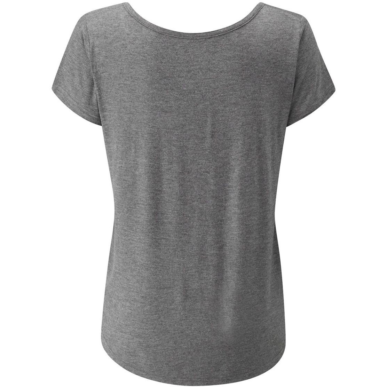 Moon Lyra T-Shirt - Dark Grey Marl
