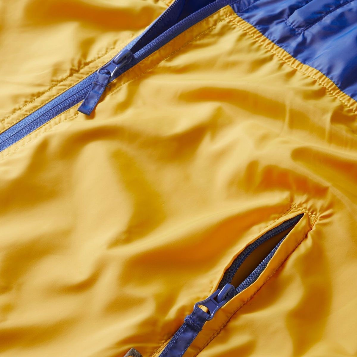 Moon Wind Cheater Jacket - Skydiver/Golden Rod