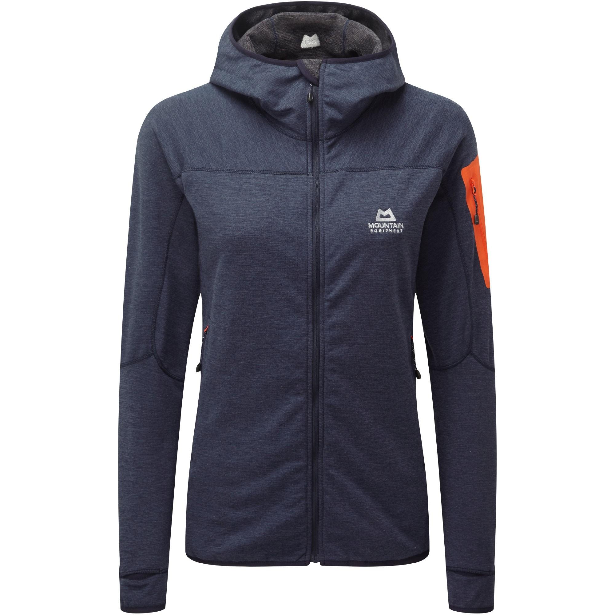 Mountain Equipment Pivot Hooded Fleece Jacket - Ombre Blue