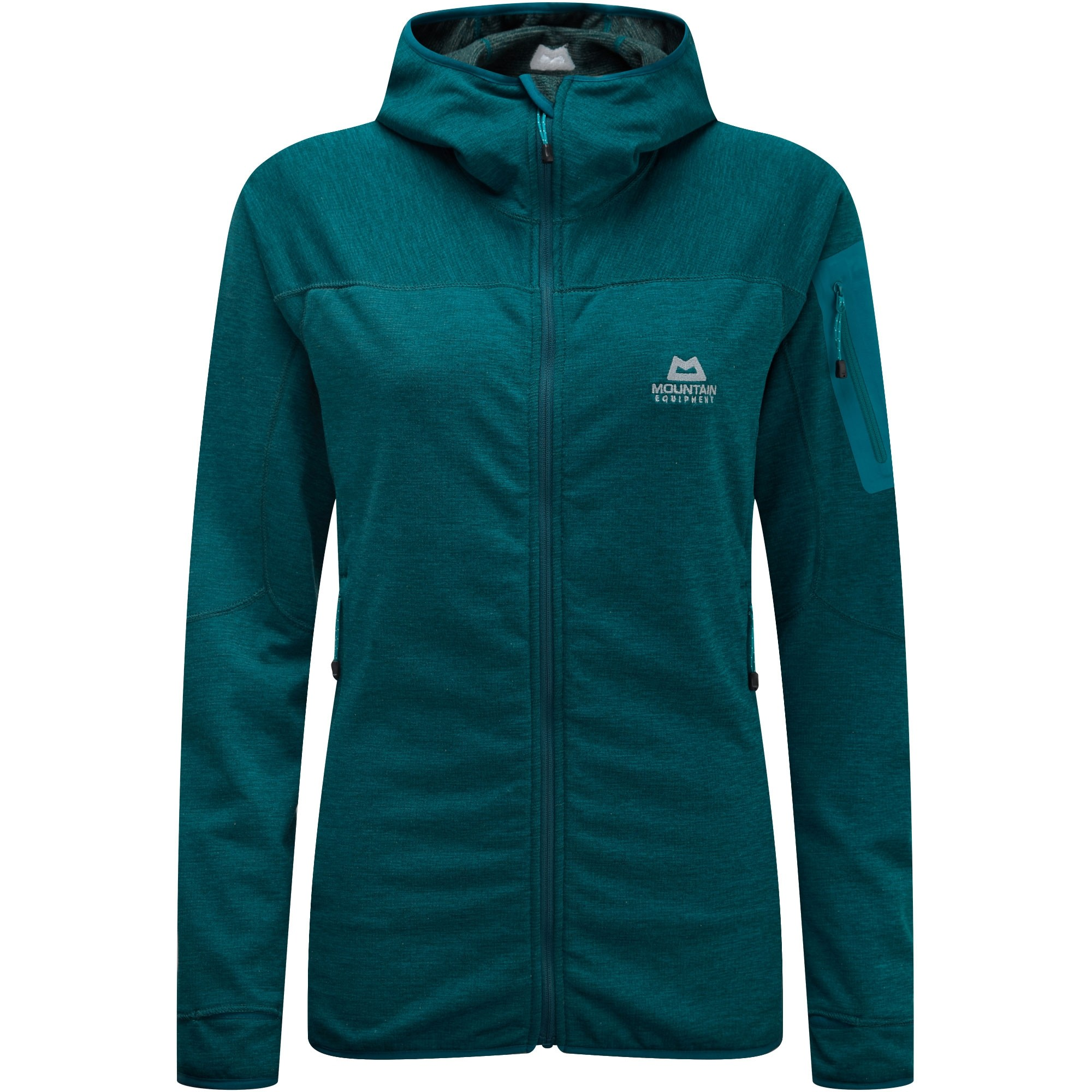 Mountain Equipment Pivot Hooded Fleece Jacket - Tasman Blue