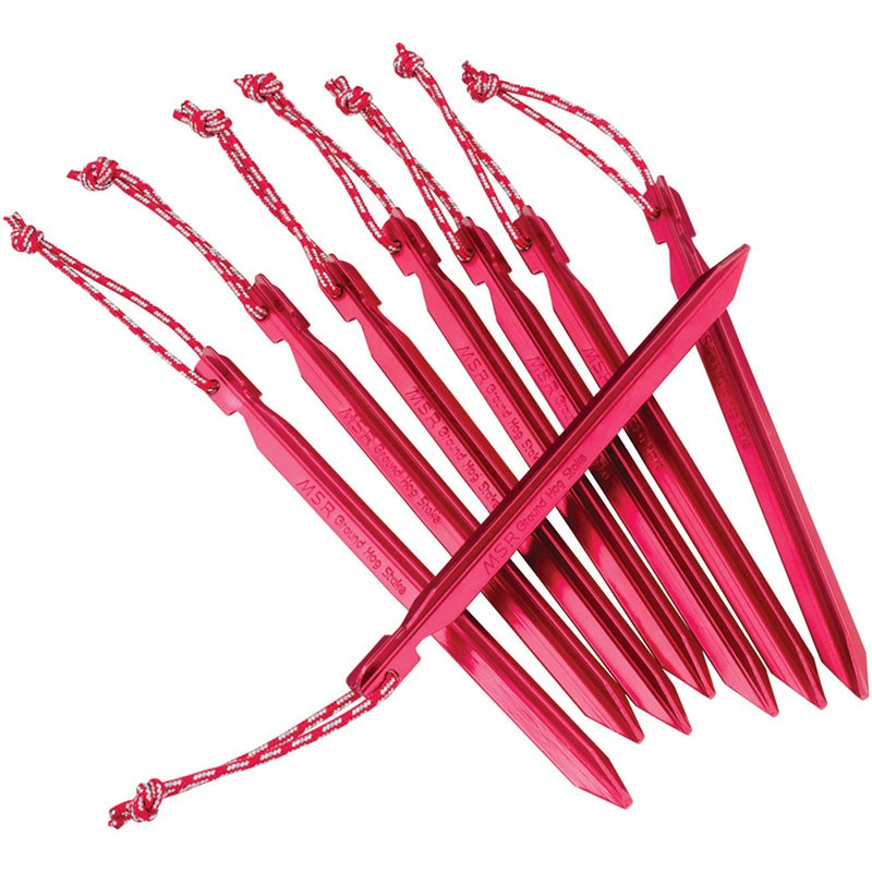 MSR Groundhog Stake Kit Red
