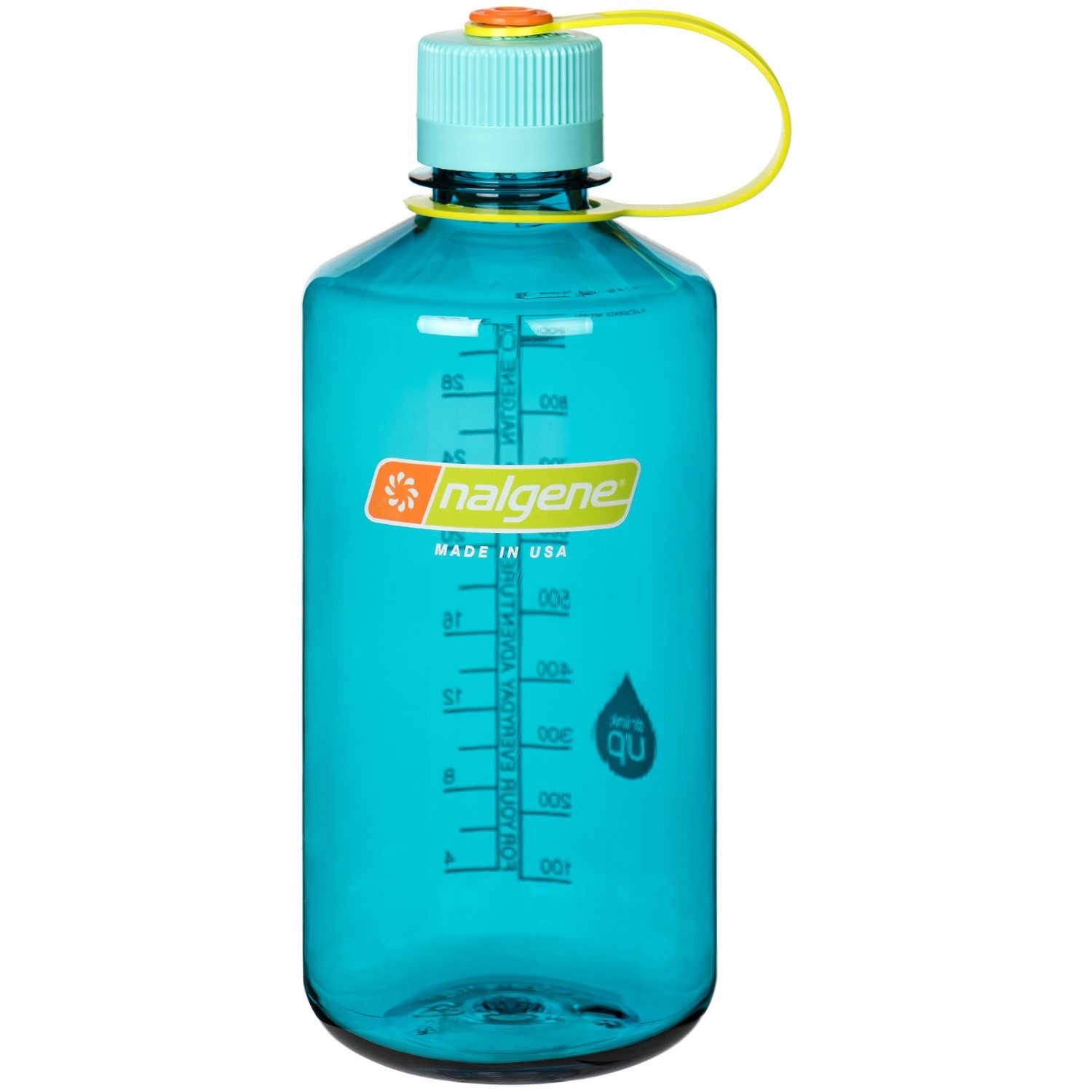 Tritan Narrow-Mouth 1 Litre Bottle - Cerulean