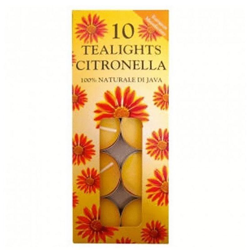 Citronella Tealights x 10