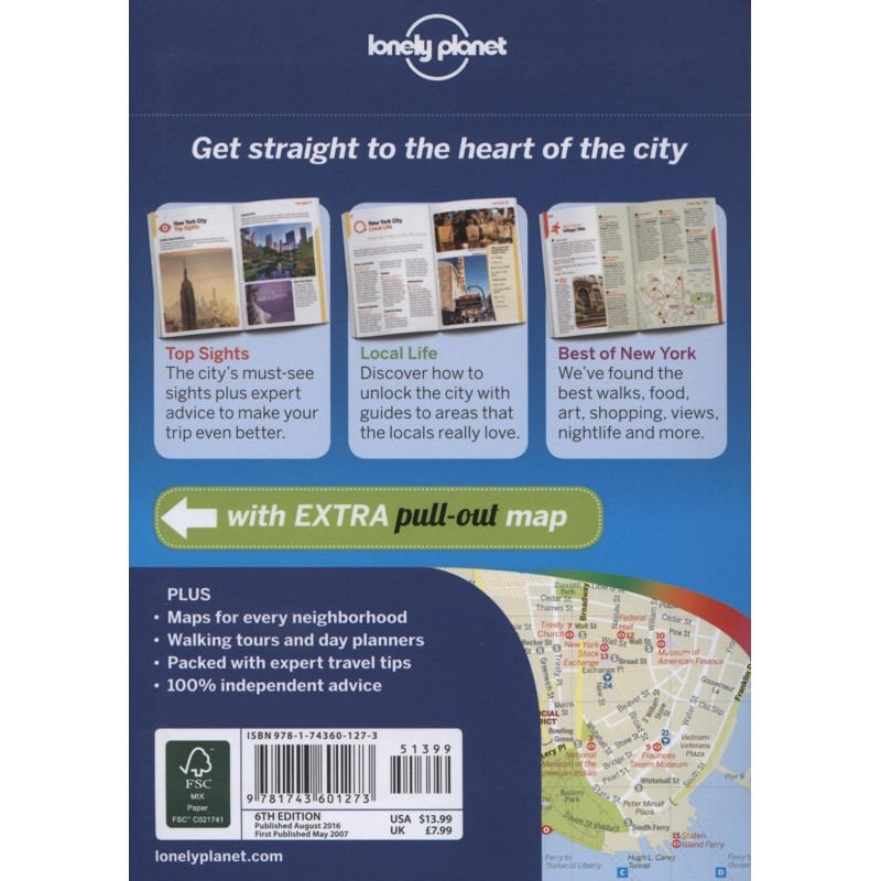 New York City: Lonely Planet Pocket Guide