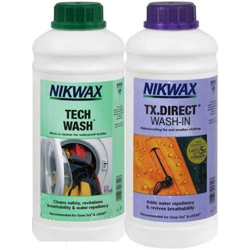 Nikwax Tech Wash-TX Direct Combo 1L