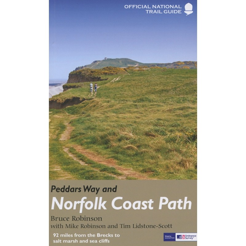Peddars Way and Norfolk Coast Path: Official National Trail Guide 15 by Aurum Press