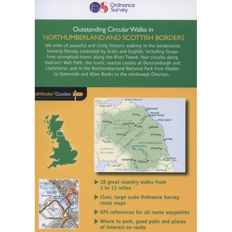 Northumberland and Scotttish Borders Outstanding Circular Walks: Pathfinder Guide 35