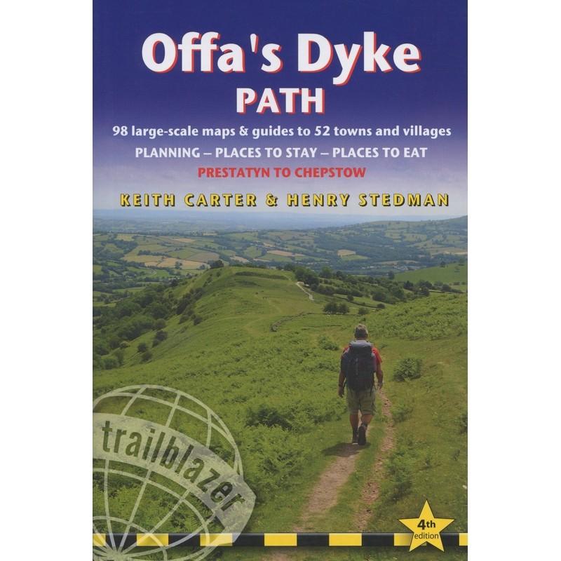Offas Dyke Path: Prestatyn to Chepstow by Trailblazer Guides