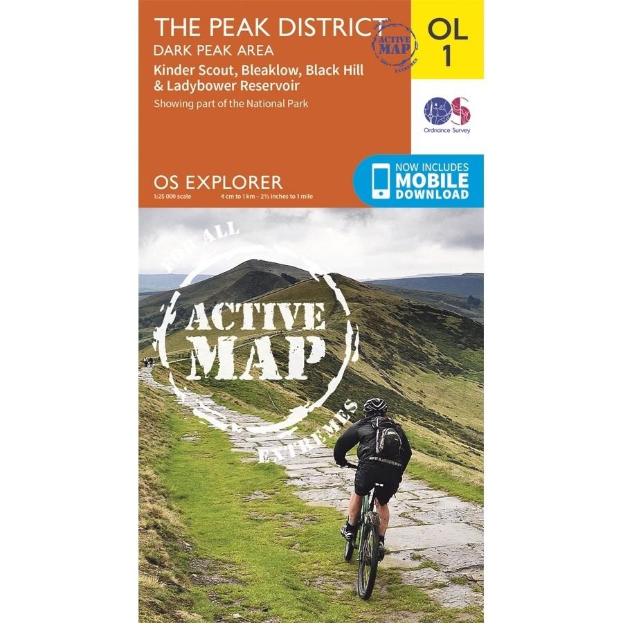 OL1 The Peak District: Dark Peak area: ACTIVE