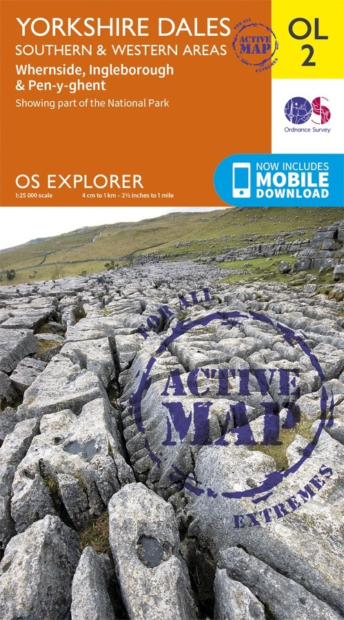 OL2 Yorkshire Dales: Southern & Western Areas: OS ACTIVE