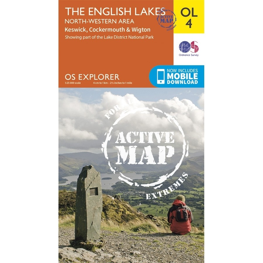 OL4 The English Lakes North-Western area: ACTIVE