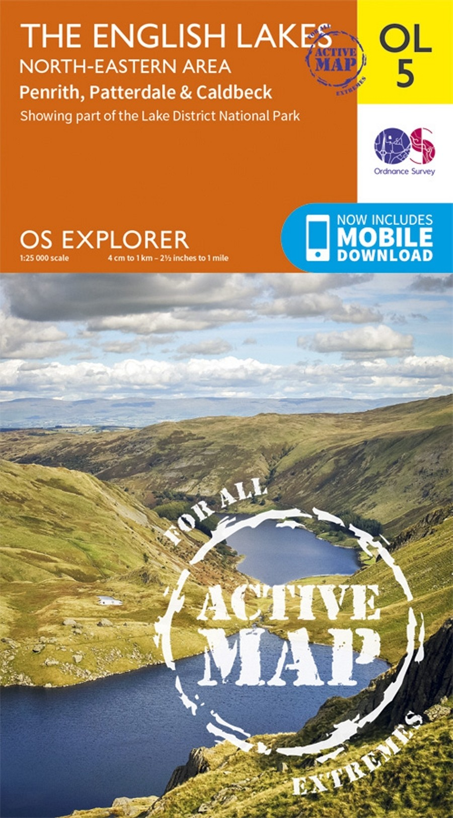 OL5 English Lakes North-Eastern area: ACTIVE