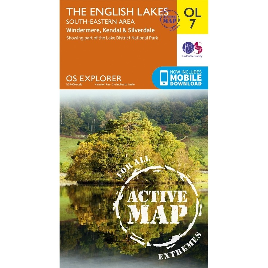 OL7 The English Lakes South-Eastern area: ACTIVE