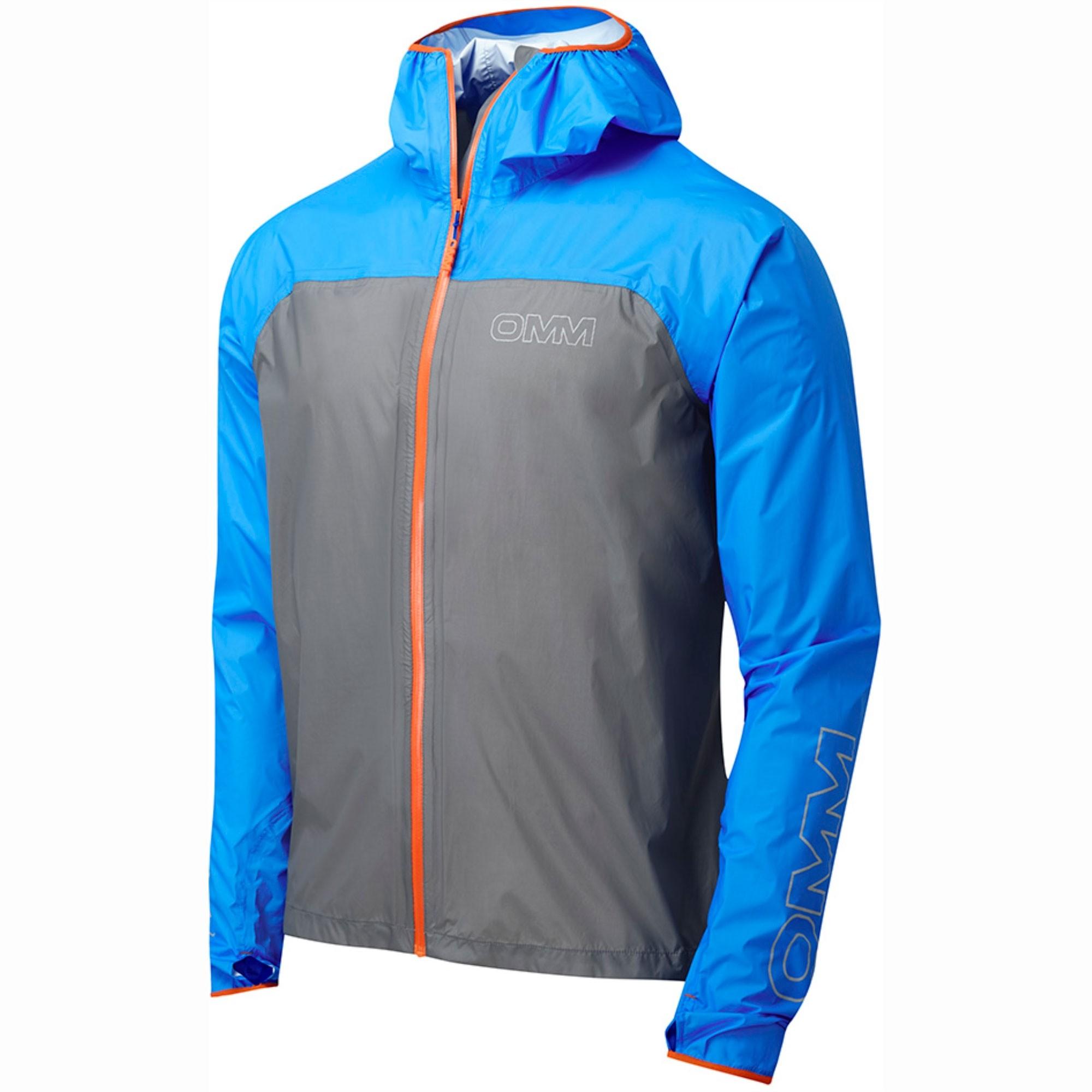 OMM Halo Waterproof Jacket - Grey/Blue