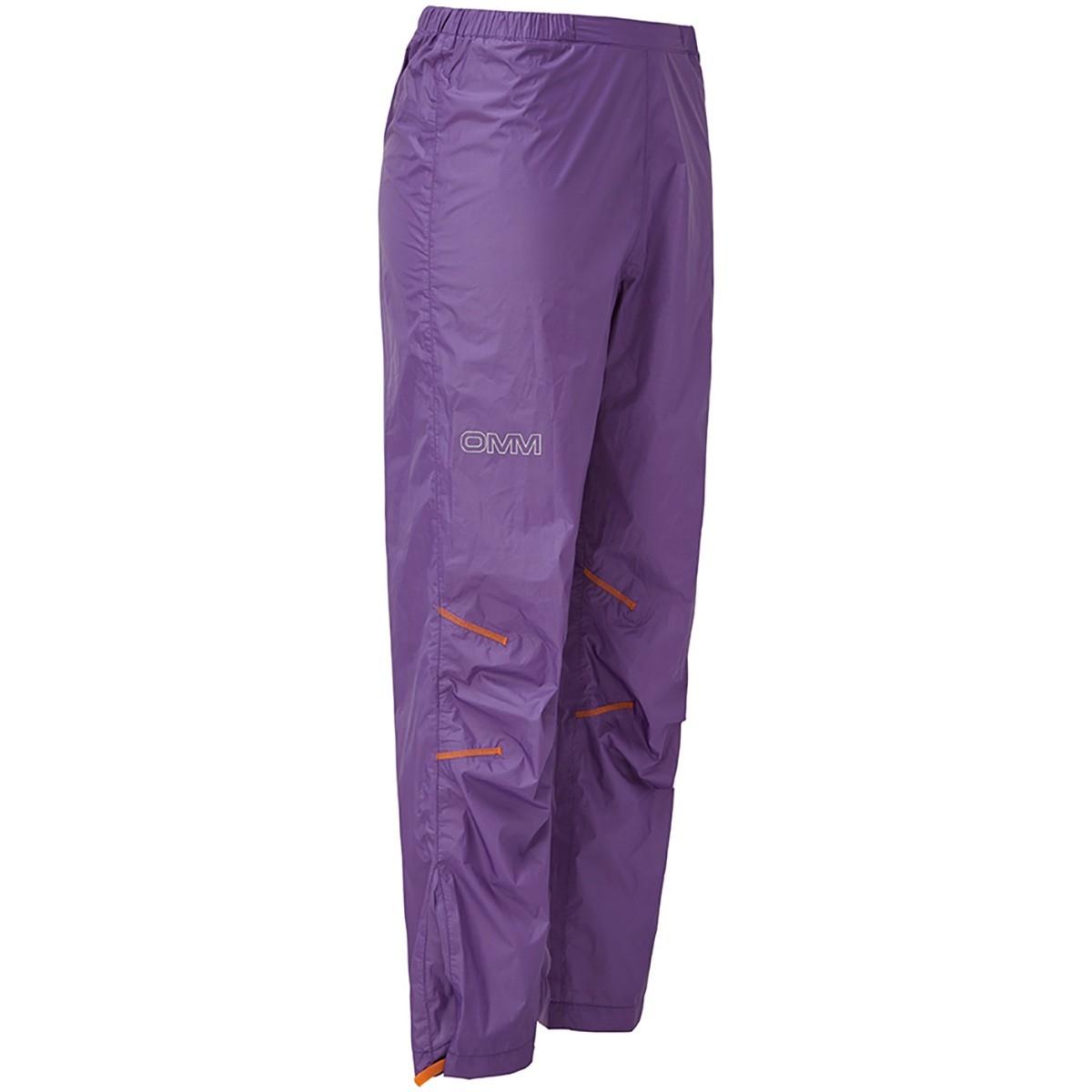 OMM Halo Women's Waterproof Pants - Purple - side