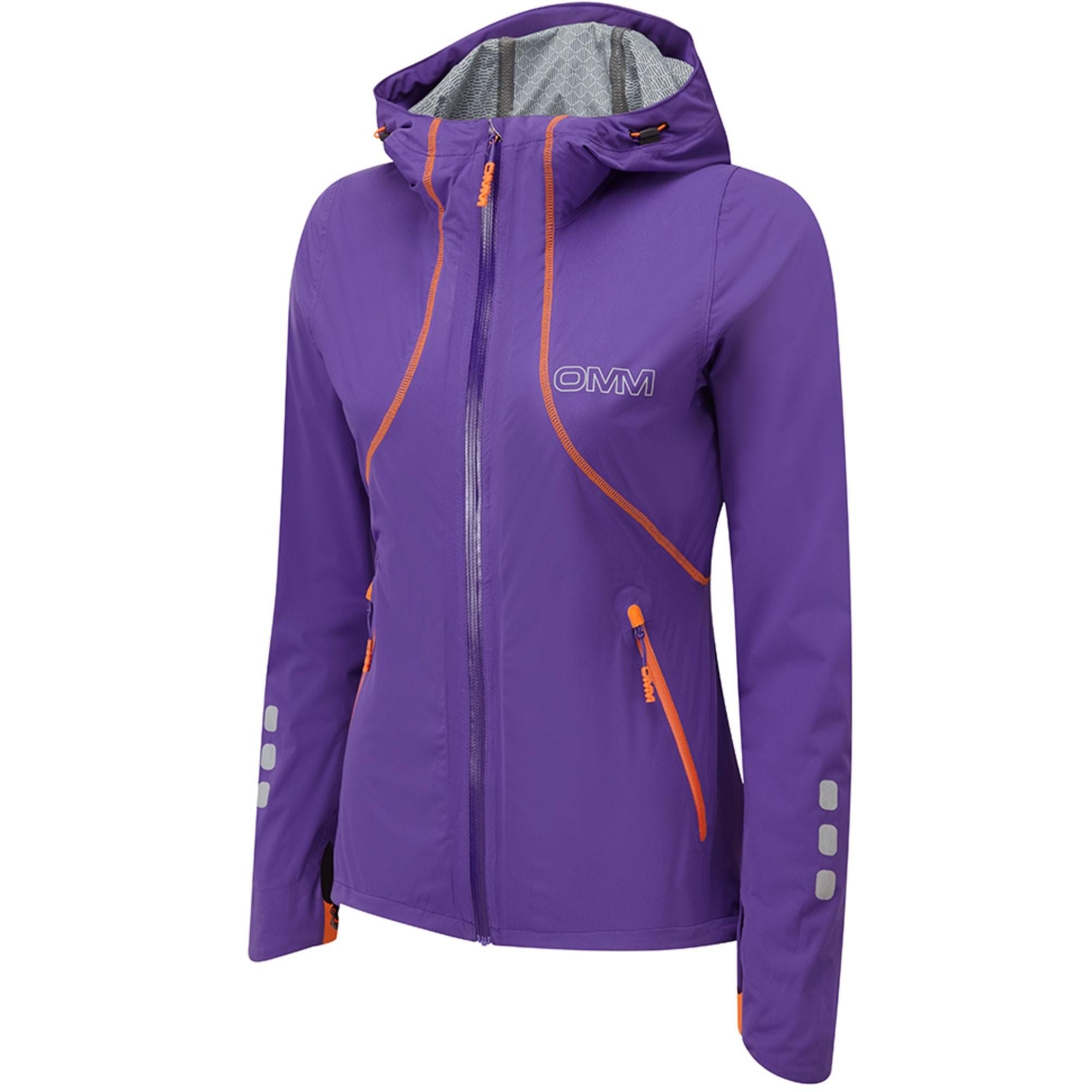 OMM Kamleika Women's Waterproof Running Jacket - Purple