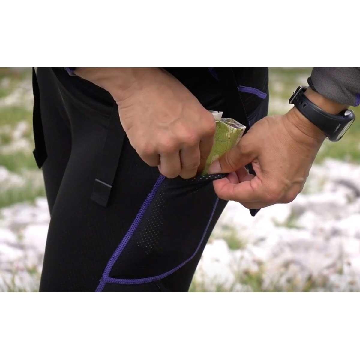 OMM Flash Winter Men's Running Tights - Pocket