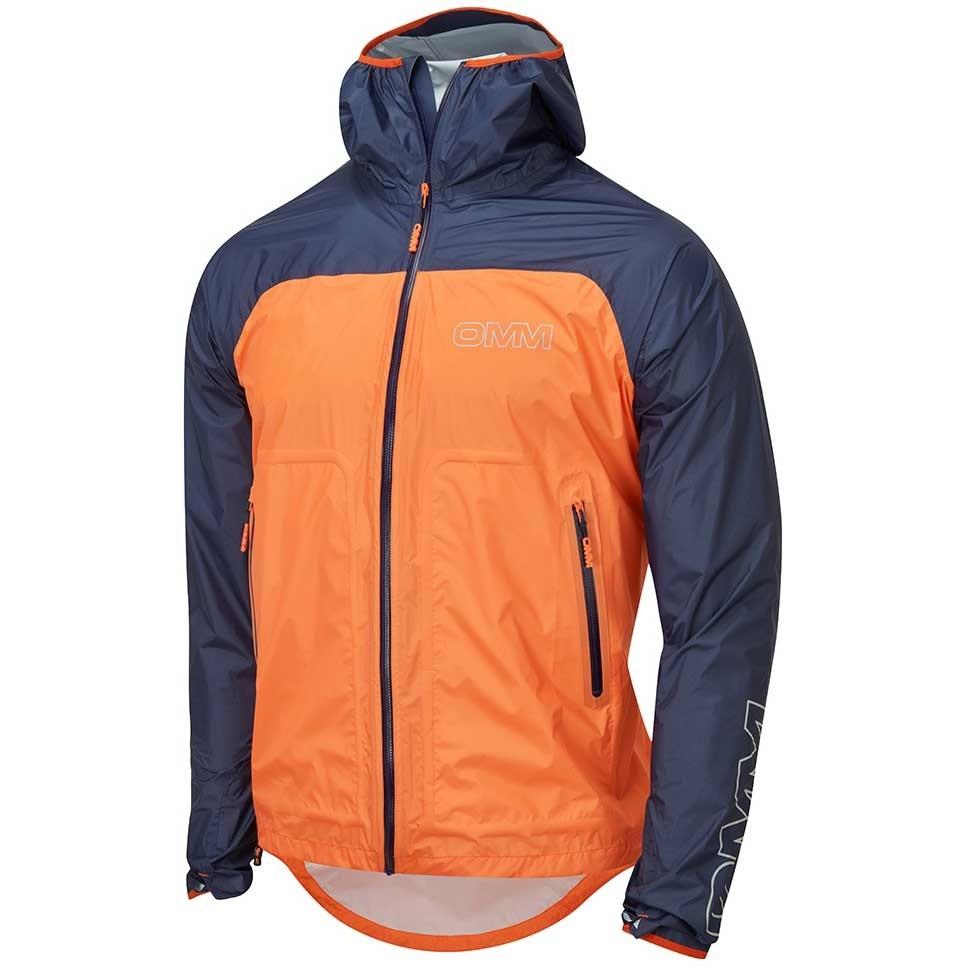 OMM Halo+ Waterproof Jacket - Men's - Navy/Orange