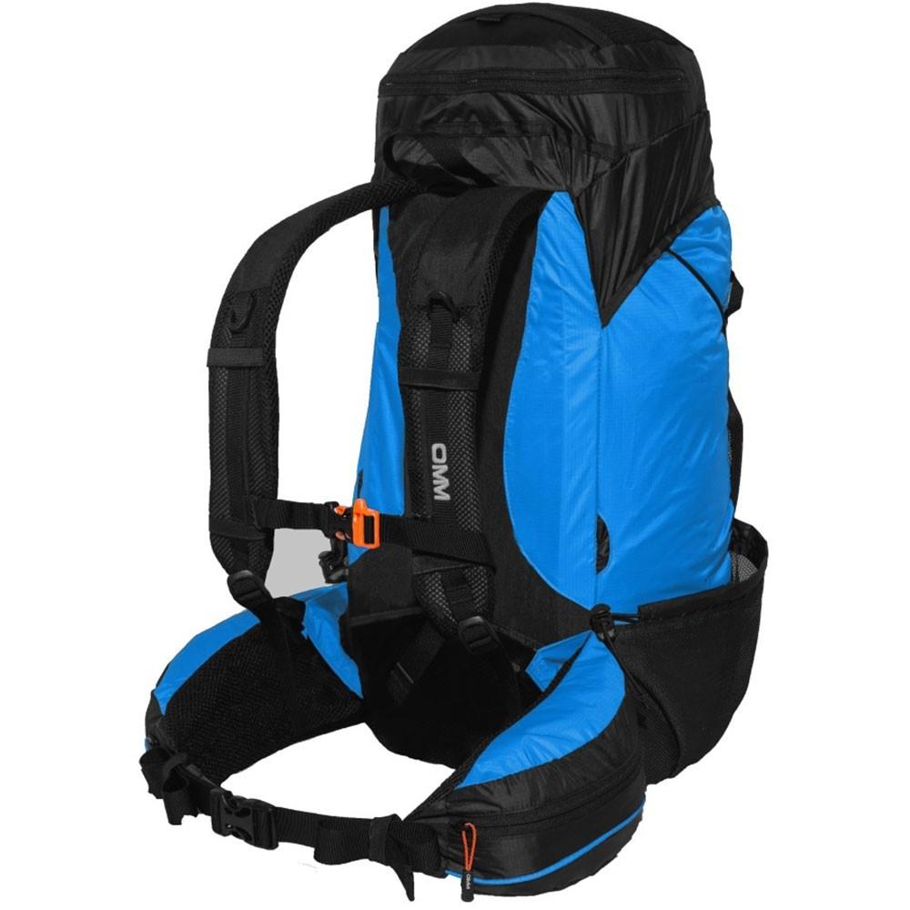 OMM Classic 32 Running Pack - Blue - Back