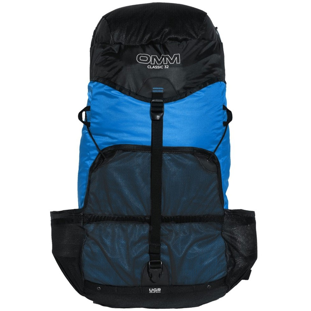 OMM Classic 32 Running Pack - Blue - Front