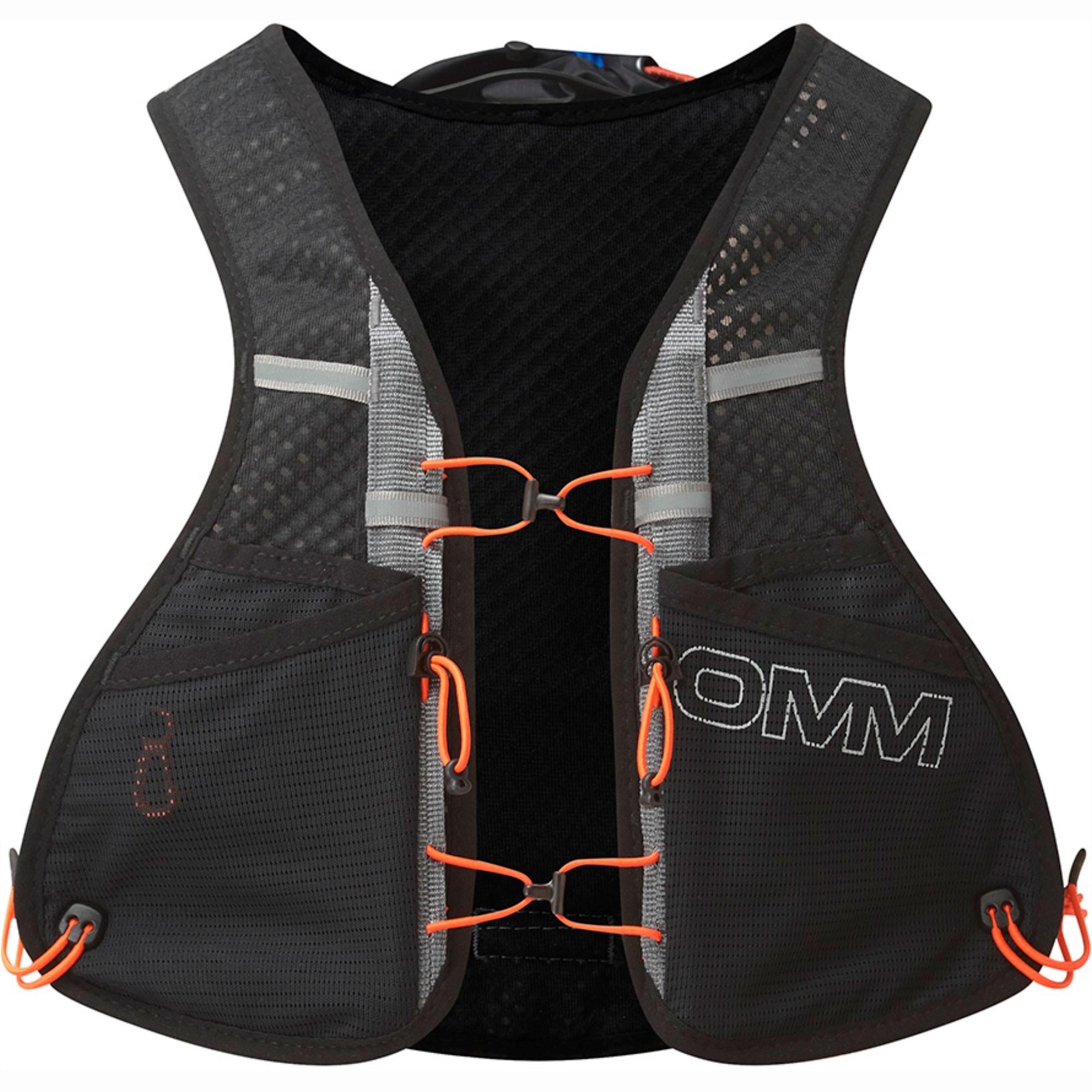 OMM TrailFire Vest Running Pack - Black Front