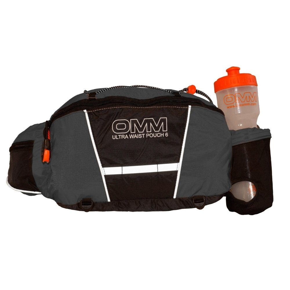 OMM Ultra Waist Pouch - front - grey