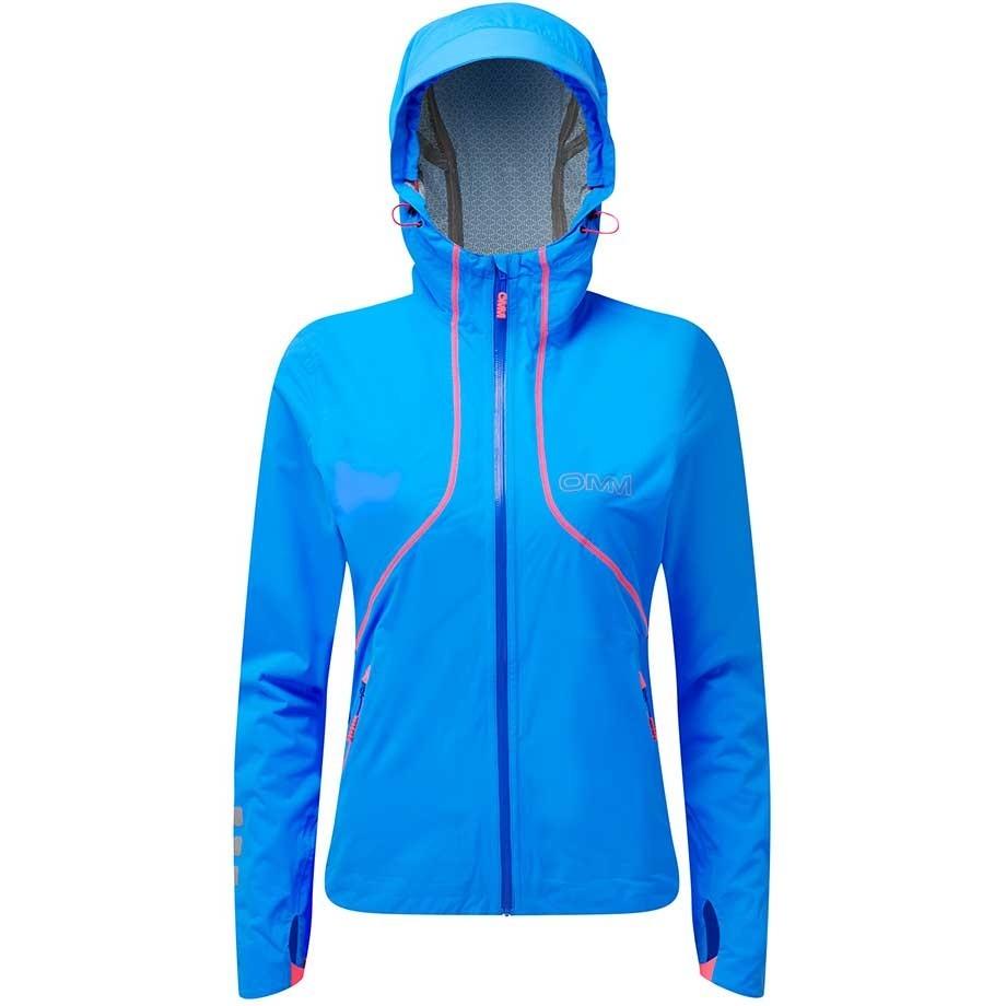 OMM Kamleika Women's Waterproof Running Jacket - Blue