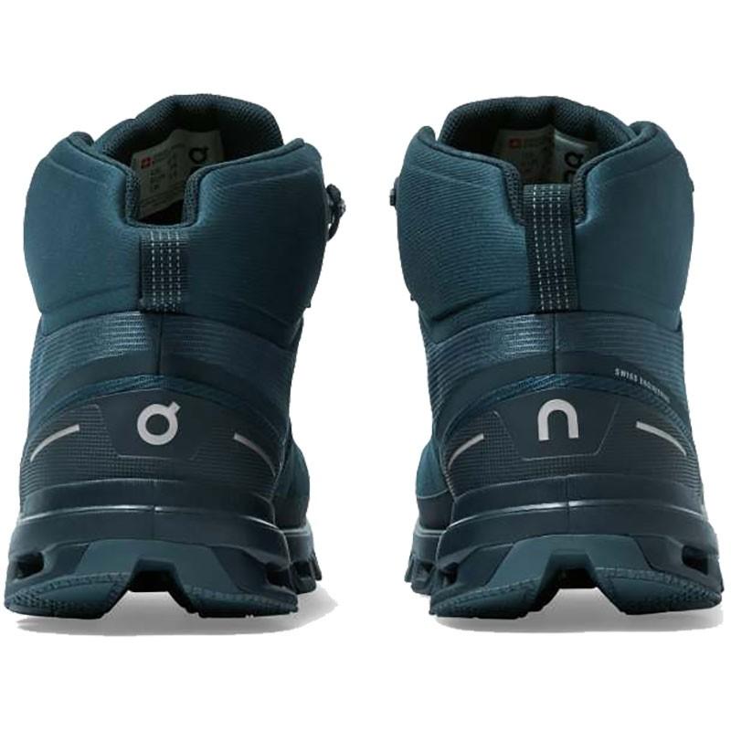 On Running Cloudrock Waterproof Hiking Boot - Men's - Navy/Midnight