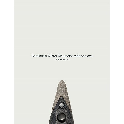 Scotland's Winter Mountains with one axe