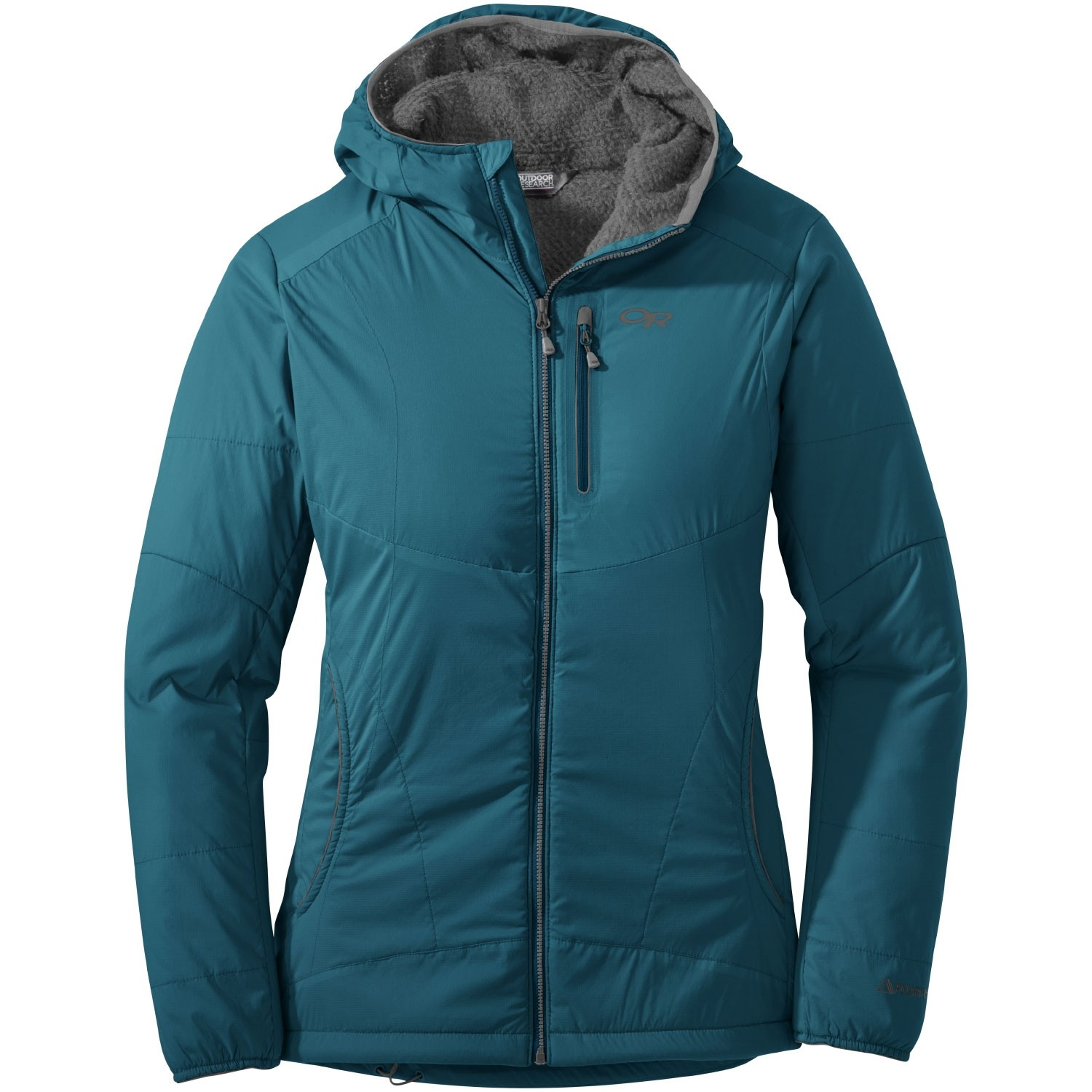 Outdoor Research Women's Ascendant Hoody - Washed Peacock/Pewter
