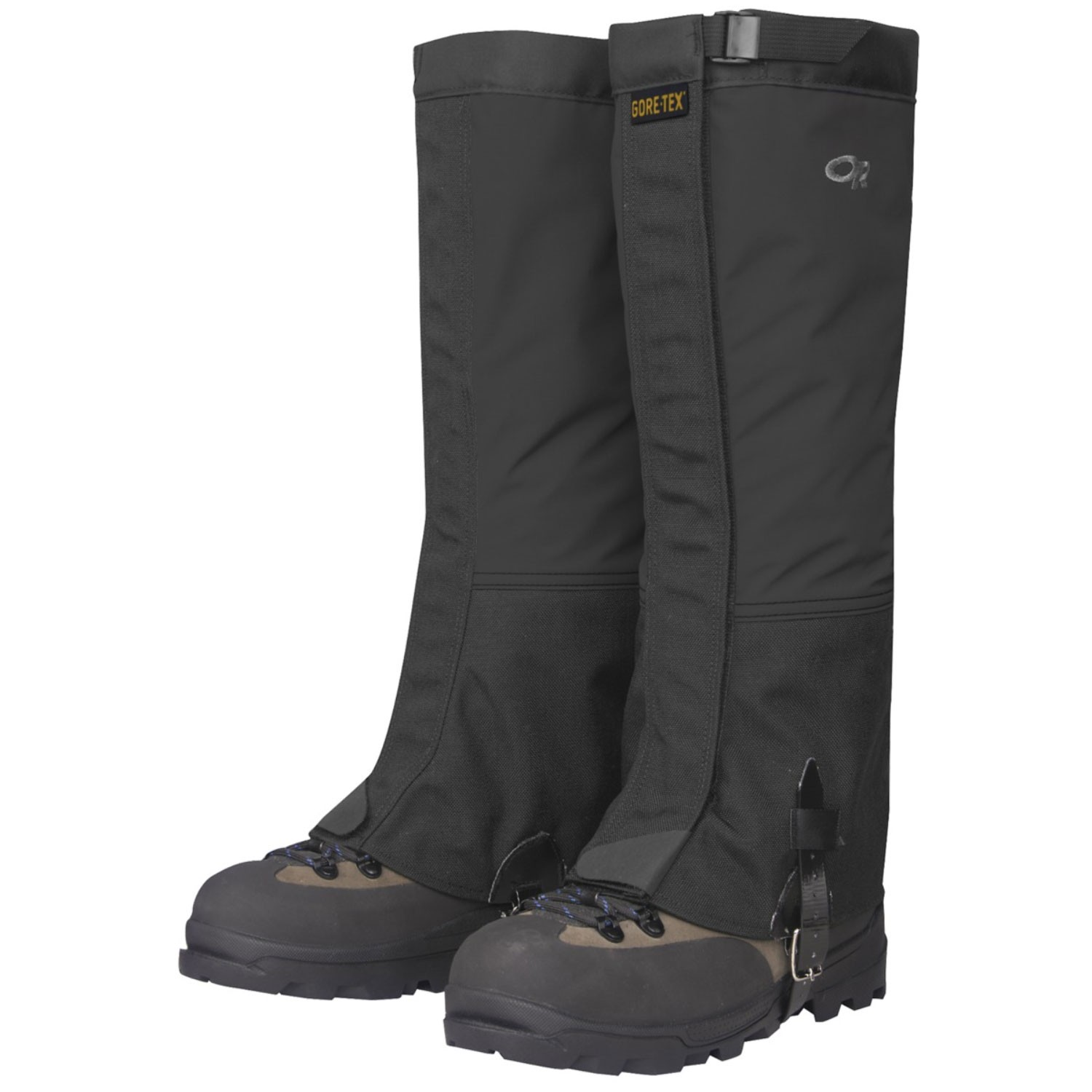 Outdoor Research Mens Crocodile Gaiters - Black