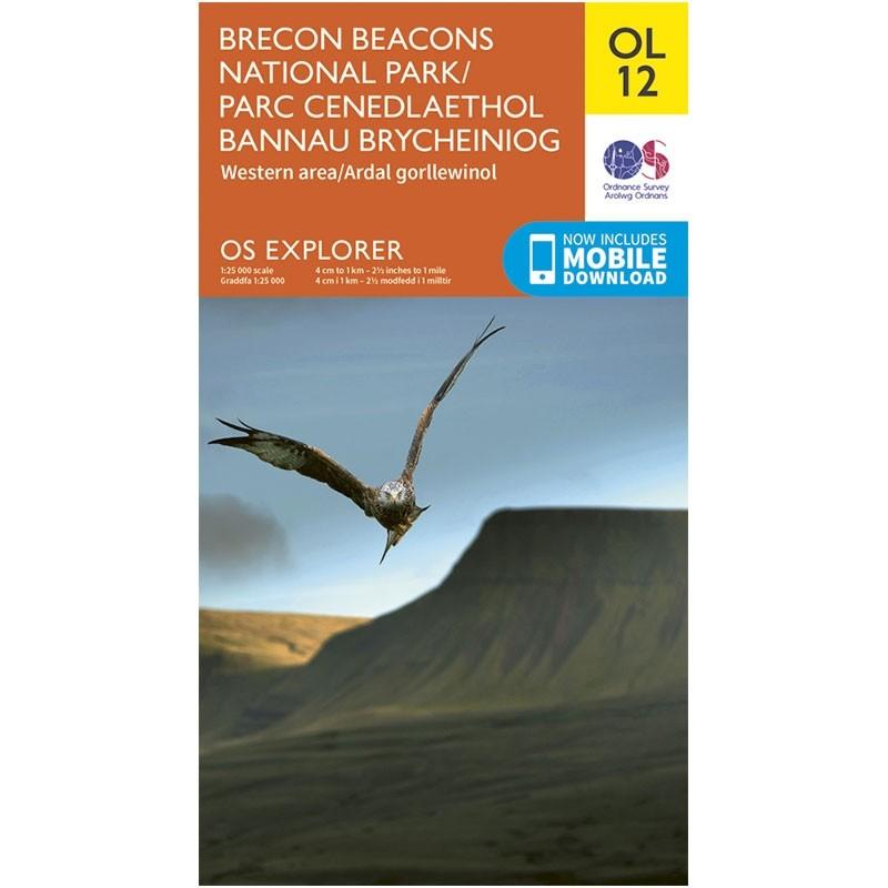 OL12 Brecon Beacons National Park: Western area
