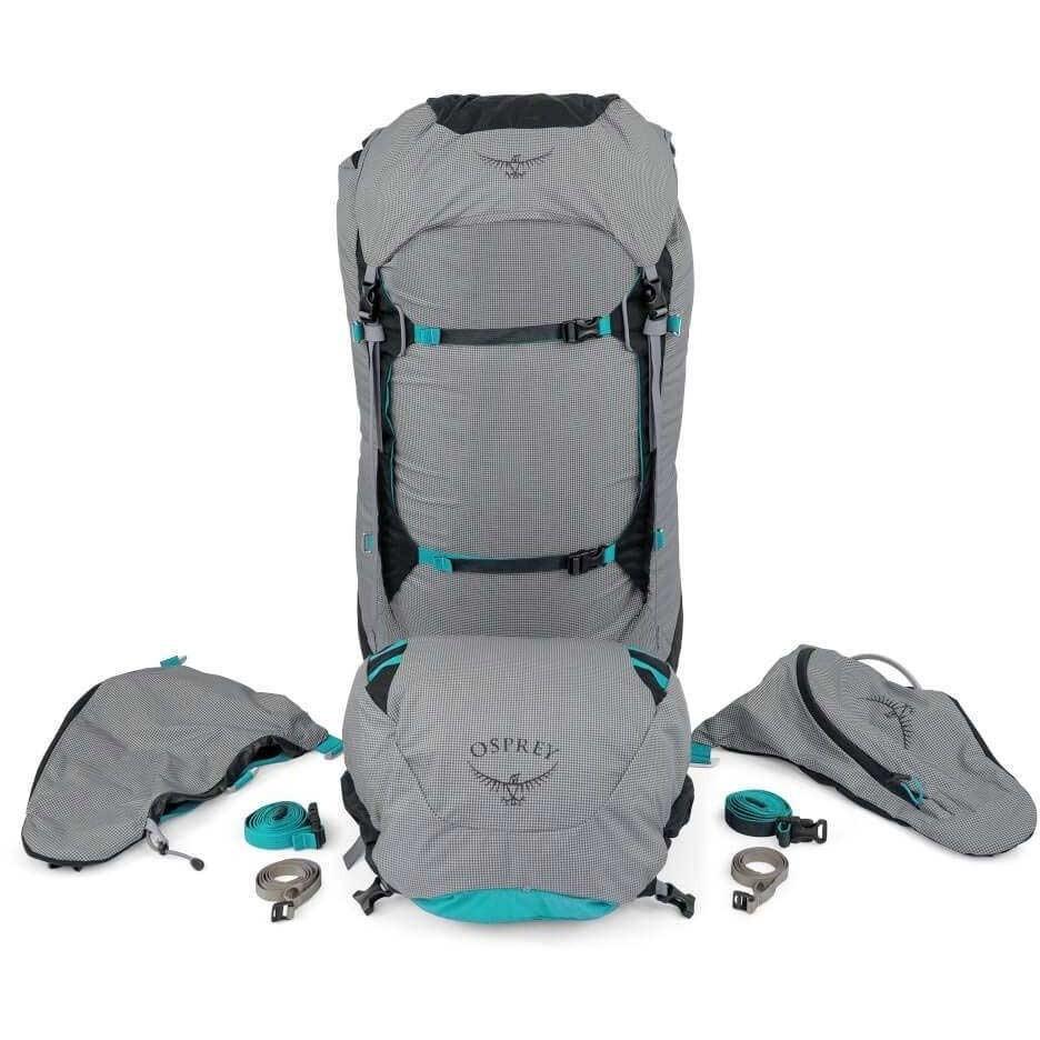 Ariel Pro 65 Trekking Rucksack - Women's - Voyager Grey - Stripped