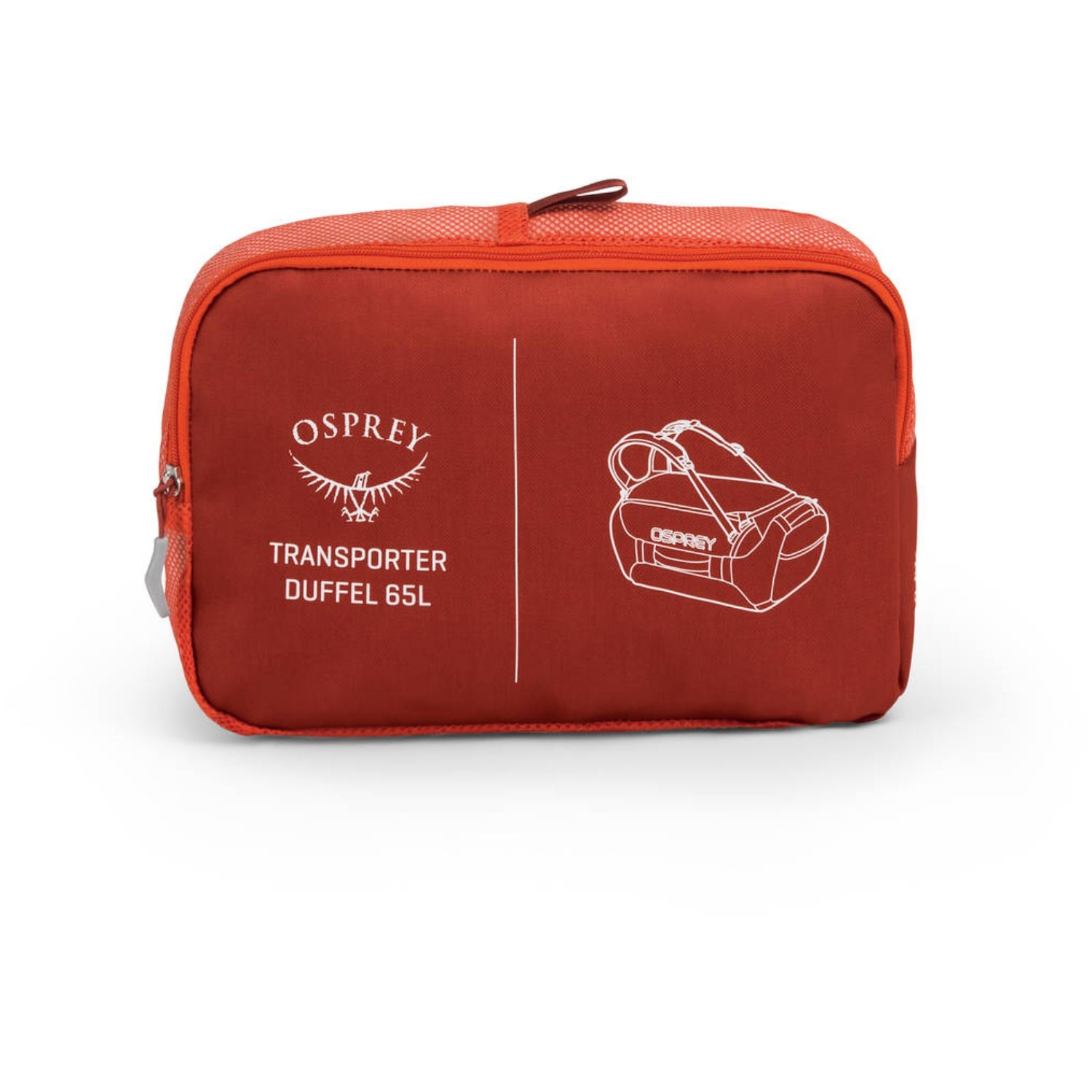 Osprey Transporter 65 Duffle Bag - Ruffian Red